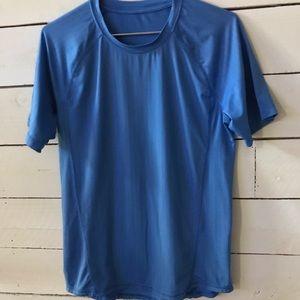 Lululemon Men's or Woman's Blue Short Sleeve Shirt